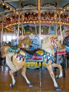 Take a Turn On a Vintage Carousel- Fall River MA