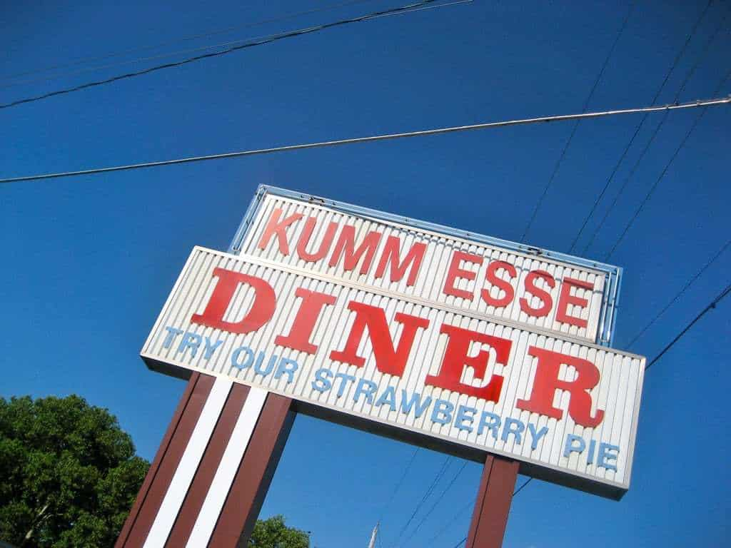 Come Eat – at the Kumm Esse Diner Myerstown PA