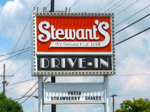 Lights On For Service! Stewart's Drive-In, Vineland NJ