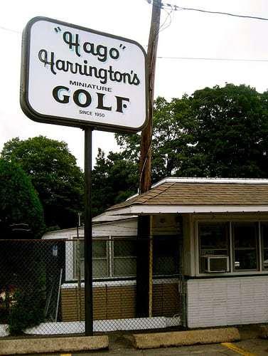 Hago Harrington's Miniature Golf Stoneham MA