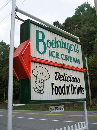 Boehringer's Drive In Adamstown PA - A Classic Roadside Food and Ice Cream Stand