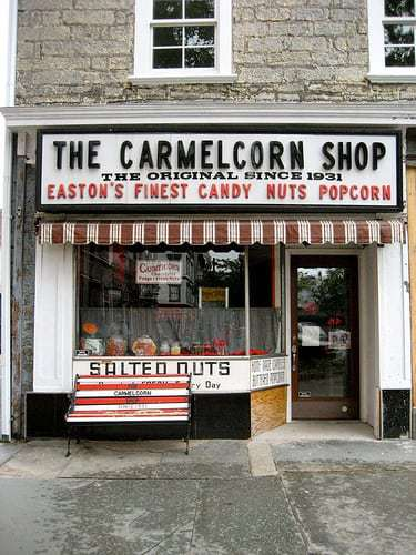Aubrey's Sweet on The Carmelcorn Shop in Easton PA