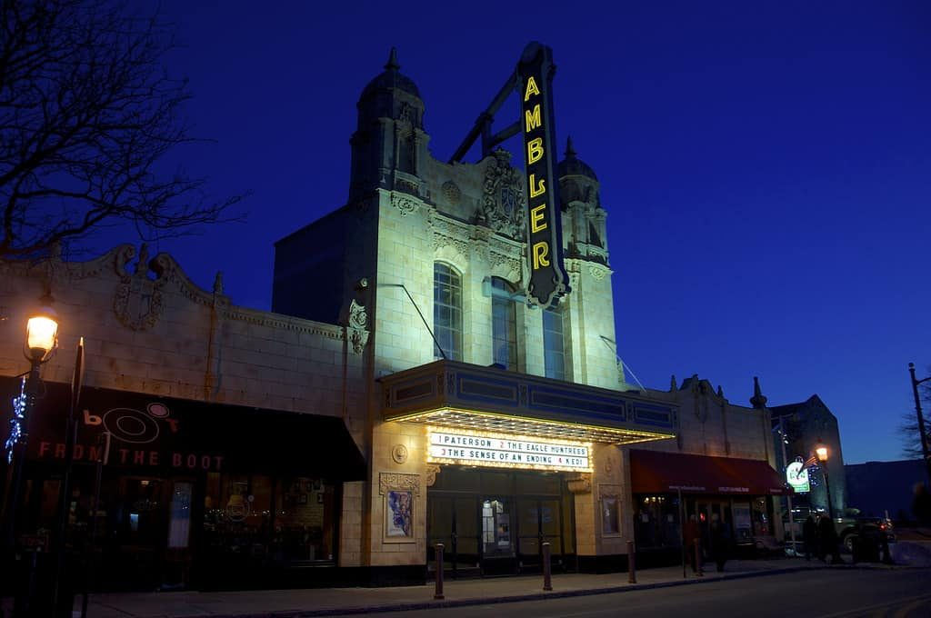 Ambler Theater Ambler PA 2017 Retro Roadmap