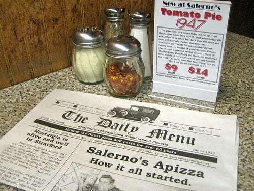 Salerno's Apizza Stratford CT - A BEETS at Cutrufello's Cheese & Ravioli
