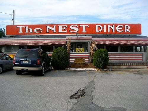 The Nest Diner - Mattapoisett MA Vintage Diner