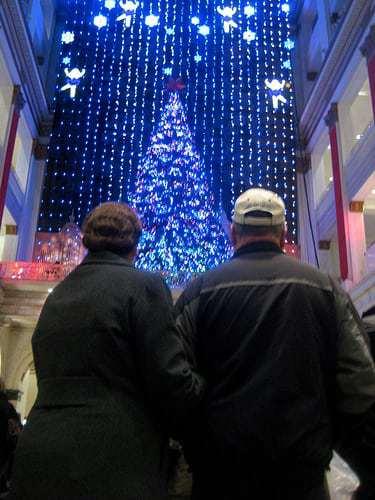 Macy's Wanamaker Organ Christmas Light Show