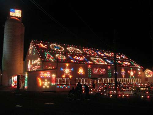 Koziar's Christmas Village in Bernville PA Lights Up The Night!
