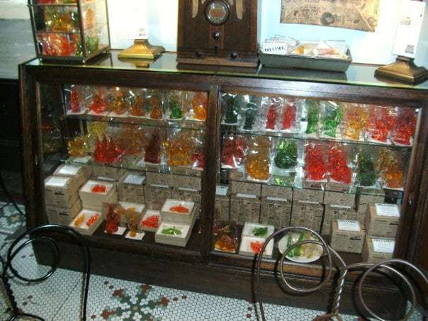 Clear Toy Candy - a PA Treat at Franklin Fountain in Philadelphia