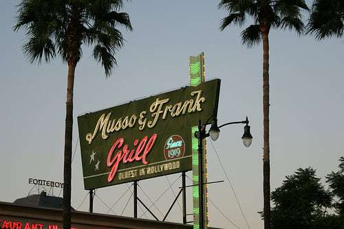 musso franks los angeles neon daisylind flickr