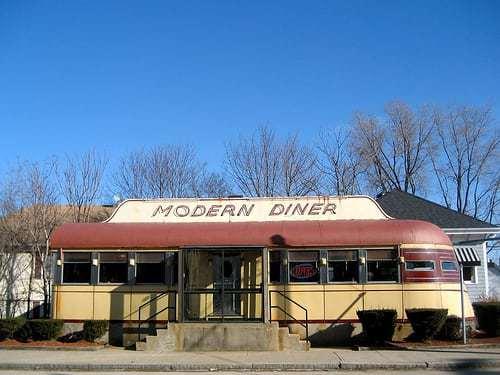 Modern Diner - First Diner on National Historic Register