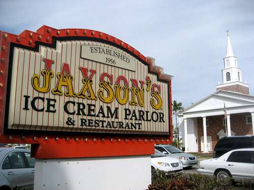 Jaxon's Ice Cream Parlor - Since 1956 - Dania Beach FL