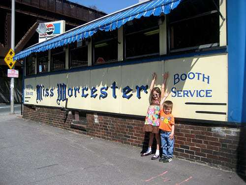Miss Worcester Diner Lunch Requested by Retro Roadboy - Aunt Mod Betty Swoons!