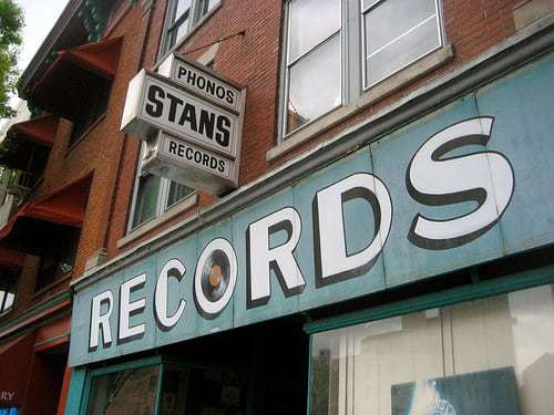 Stan's Records - Cool Old Record Store Sign Lancaster PA
