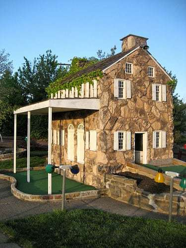 Waltz Golf Farm Limerick PA - Good Old Fashioned Miniature Golf
