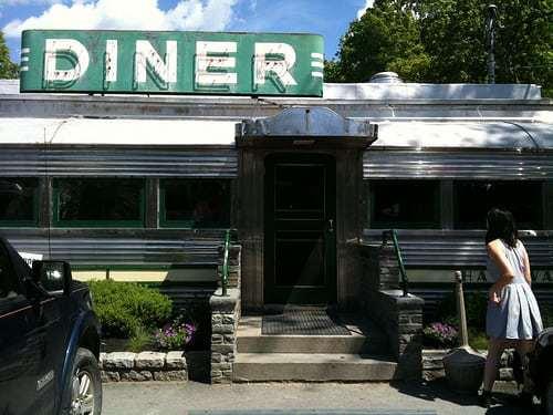 Village Diner Red Hook NY - First NY Diner on Historic Register