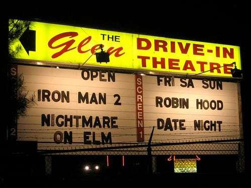 Drive In Movie Season - Bengie's in MD!
