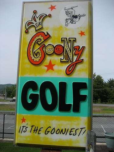 Mini Golf 1970 Style - Goony Golf Lake George NY