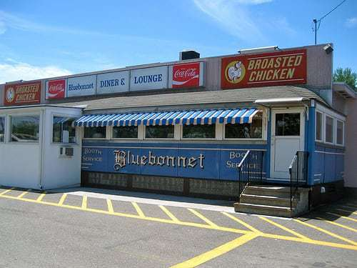 Bluebonnet Diner  Northampton MA -  Everything's Better with Real Maple Syrup On It!