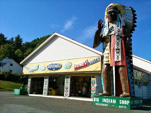 Stop at The Big Indian Shop on The Mohawk Trail - Shelburne Falls MA