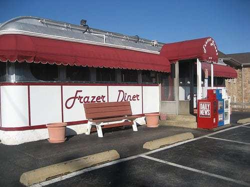 Frazer Diner, Malvern PA - Unaltered 1930s Diner