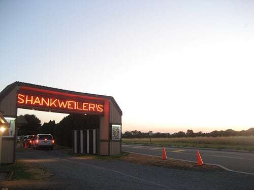 Shankweiler's Drive In Orefield PA - America's Oldest Drive In Movie Theater