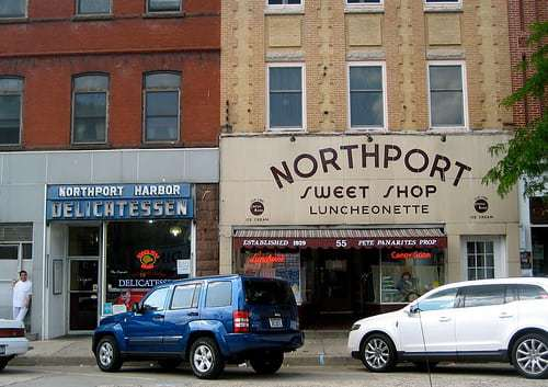 Northport Sweet Shop - Long Island NY Retro Road Photos - Diners, Neon, Luncheonettes and More