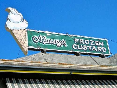 Massey's Frozen Custard Carlisle PA - Open Since 1949