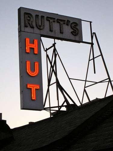 Rutt's Hut Clifton, NJ - Don't Miss The Vintage Bar / Dining Room!