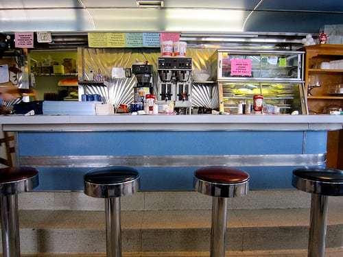 CLOSED 2014 Ernie Risser's - Family Restaurant Vintage Diner - Womelsdorf PA