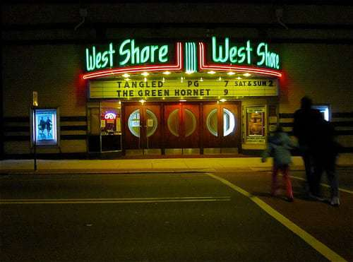 West Shore Theatre New Cumberland PA - Keeping the Neon Lit Since 1940