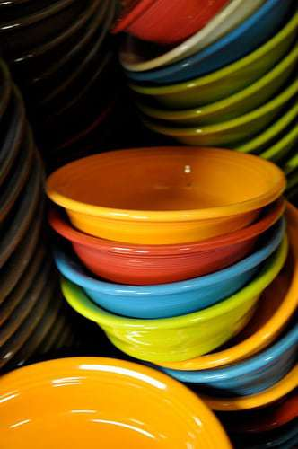 The Fiestaware Seconds Room at Homer Laughlin