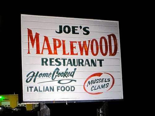 Joe Italiano's Maplewood Inn Hammonton NJ - RetroRoadmap Worthy Spaghetti!