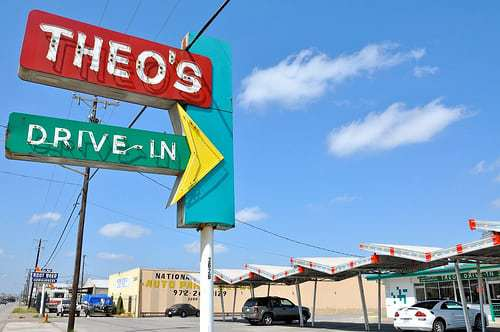 Theo's Drive In - Classic Burgers and Killer Vintage Signs
