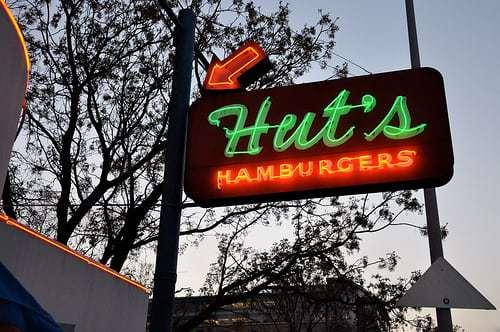 Hut's Hamburgers  - A Taste of Vintage