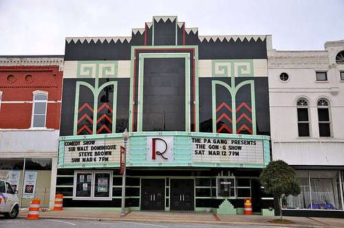 Ritz Theatre Downtown Talladega AL - an Art Deco Delight!