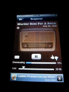 Vintage Radio iPhone App Screen Shot