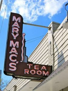 Mary Mac's Tea Room Neon Sign RetroRoadmap.com