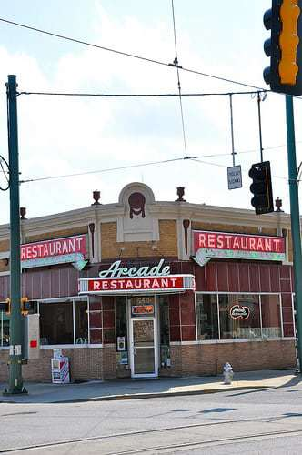 Arcade Restaurant - The Oldest Cafe in Town!