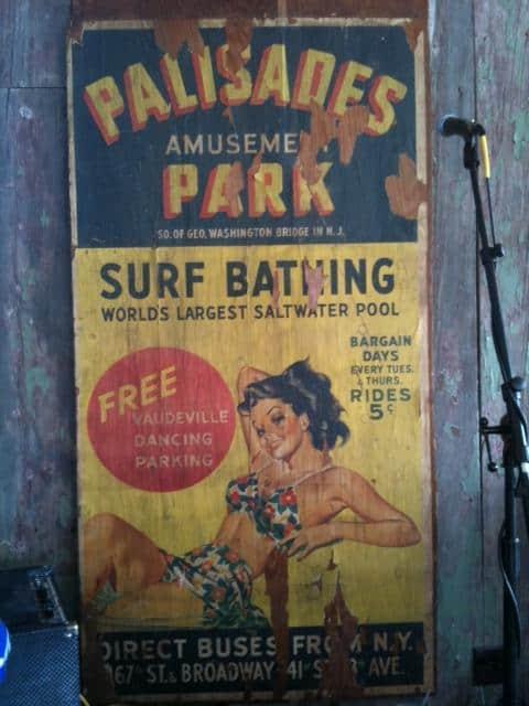 Vintage Palisades Amusement Park Poster | RetroRoadmap.com