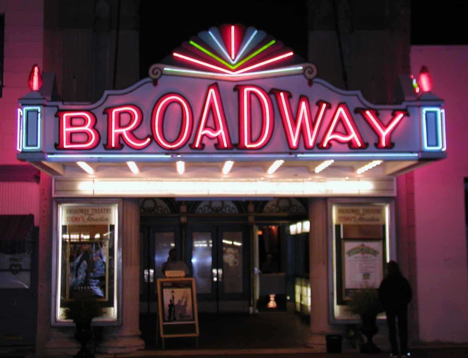Broadway theatre for The broadway