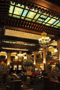Peabody Hotel Lobby Retro Roadmap