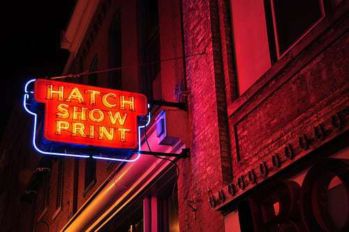 Hatch Show Prints -  One of The Oldest Operating Letterpress Shops in the USA