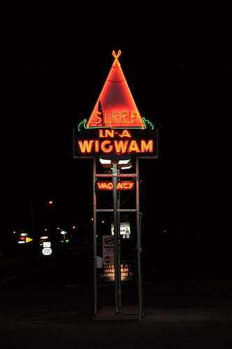 Stay in a TeePee at Wigwam Village #2