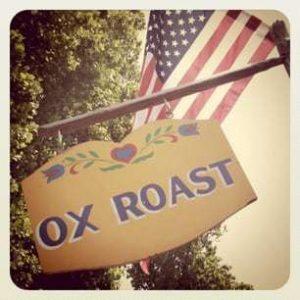 Ox Roast Sign Kutztown Folk Festival 2011