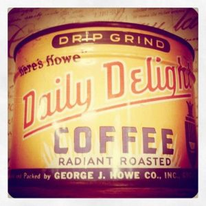 Here's Howe Daily Delight Coffee Retro Roadmap
