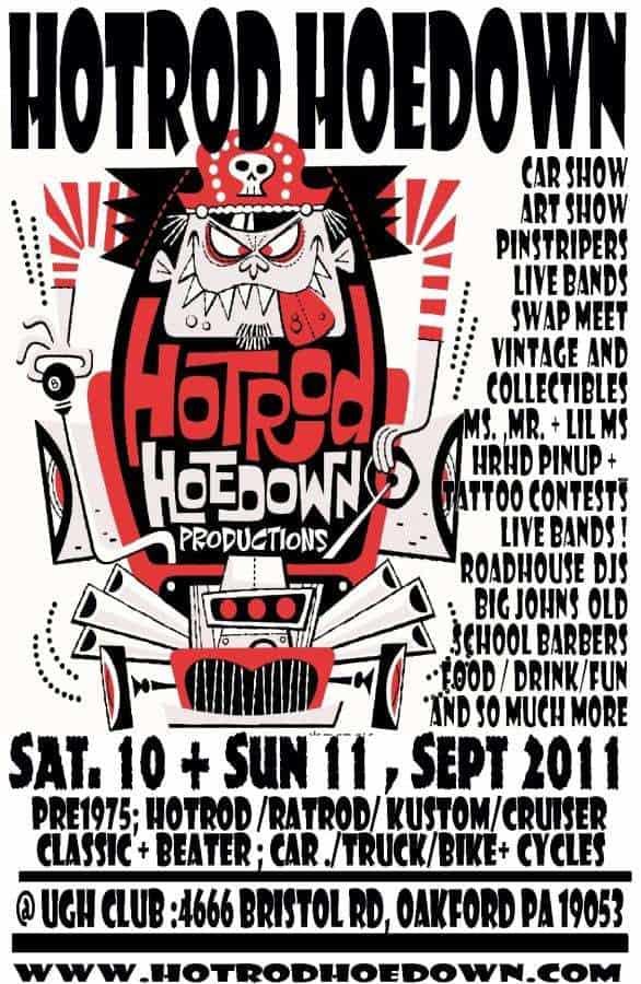 Hot Road Hoedown - September 2011
