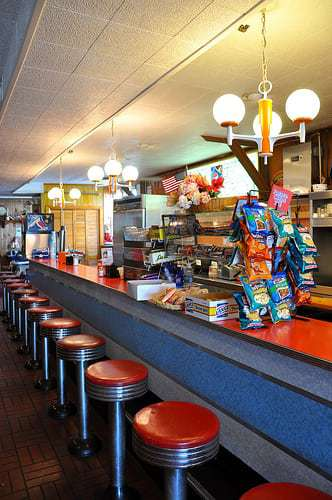 Inlet Lodge Ocean City MD -  A Vintage Beach Boardwalk Lunch Counter