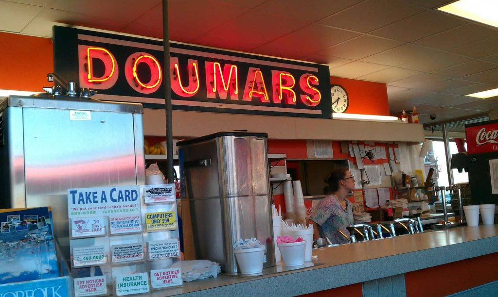 Doumar's Ice Cream Cones & BBQ Since 1934