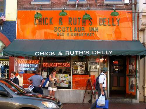 Chick & Ruth's Delly Annapolis MD - Retro Roadhusband Reporting for Duty!
