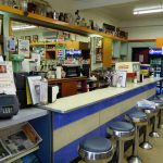 Old Fashioned Pharmacy Lunch Counter & Soda Fountain Bar